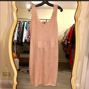 St. John Shimmer Knit Dress